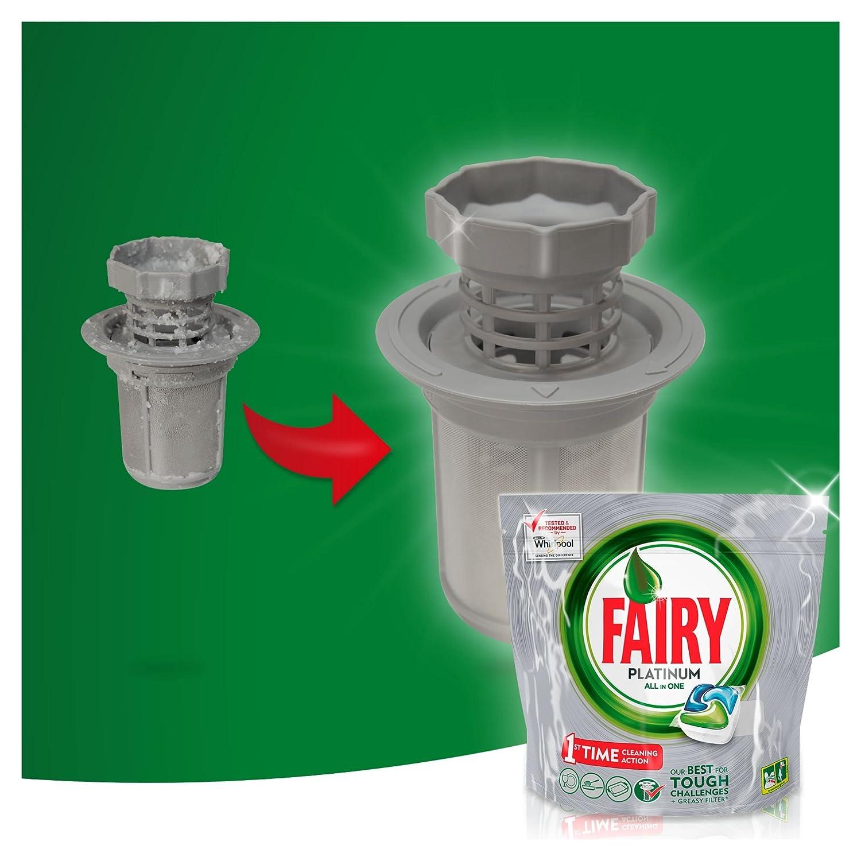 Fairy Platinum Caps para lavavajillas - Paquete de 16 x 17.50 Gr ...