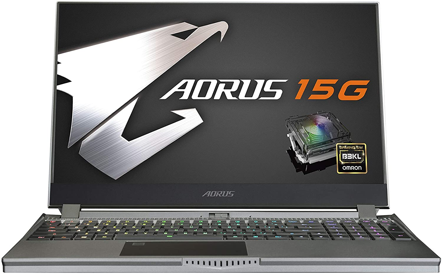 [2020] AORUS 15G (XB) Performance Gaming Laptop, 15.6-inch FHD 240Hz IPS, GeForce RTX 2070 Super Max-Q, 10th Gen Intel i7-10875H, 16GB DDR4, 512GB NVMe SSD