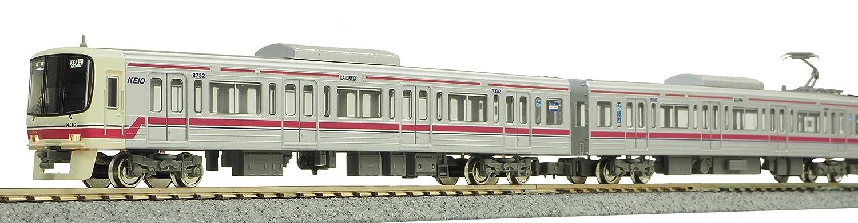 グリーンマックス Nゲージ 京王8000系 8032編成  ドア交換後 8両編成セット 動力付き 30727 鉄道模型 電車 B079GWQ62X