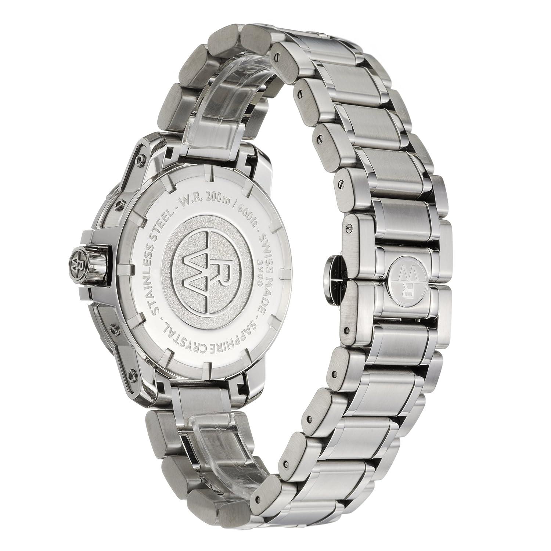 Raymond Weil Nabucco GMT Men\'s Watch 3800-ST-05207: Amazon.co.uk ...