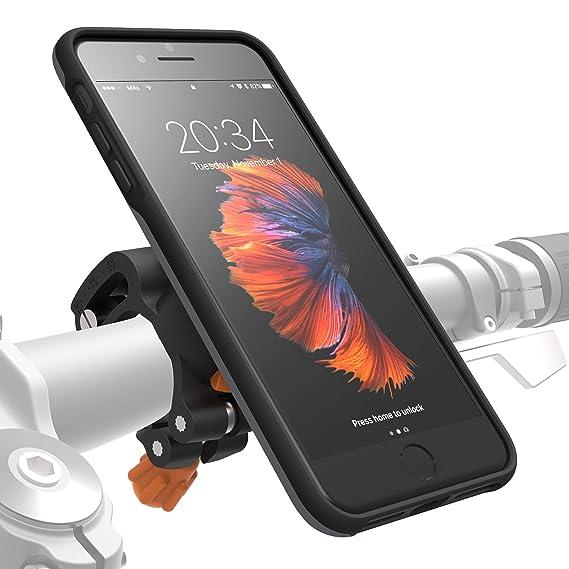 premium selection ea2a1 a3e27 Amazon.com: MORPHEUS LABS M4s iPhone 8 Plus Bike Mount iPhone 7 Plus ...
