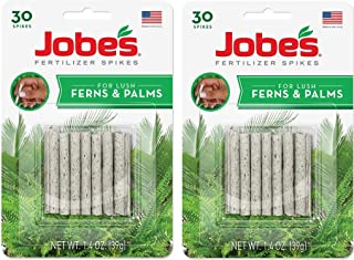 product image for Jobe's Fern & Palm Indoor Fertilizer Food Spikes - 2 Packs of 30-Pack 5101