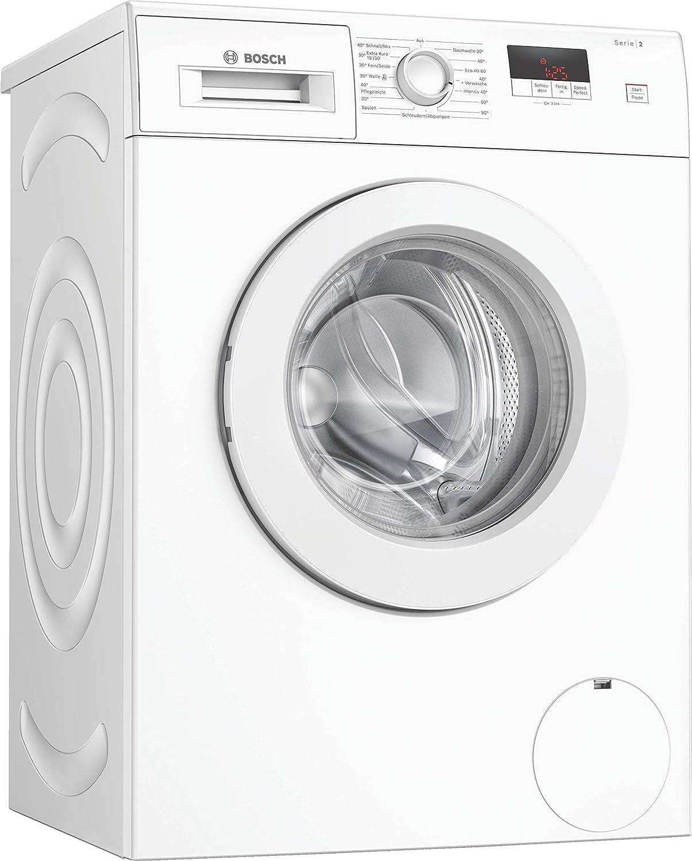 Bosch WAJ24060 Serie 2 - Lavadora (A++++, 157 kWh/año, 1200 UpM, 7 ...