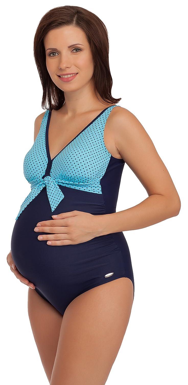 Be Mammy Premamá Trajes de Baño Bañador Traje de Baño 1 Pieza Entero Monokini Ropa Verano Embarazo Maternidad 91R3SS1