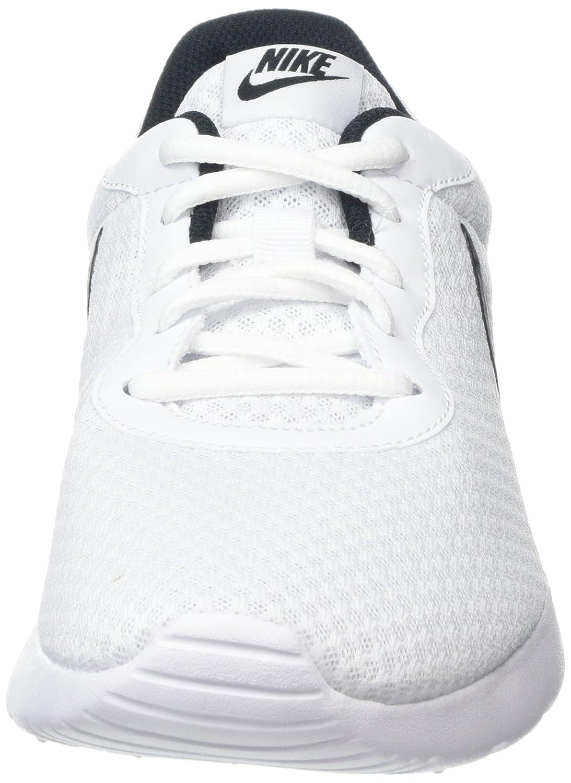 NIKE Damen Tanjun Weiß Laufschuhe, Lava Glow/White - Total Crimson, Weiß Tanjun (White/Black 100) fe2d98