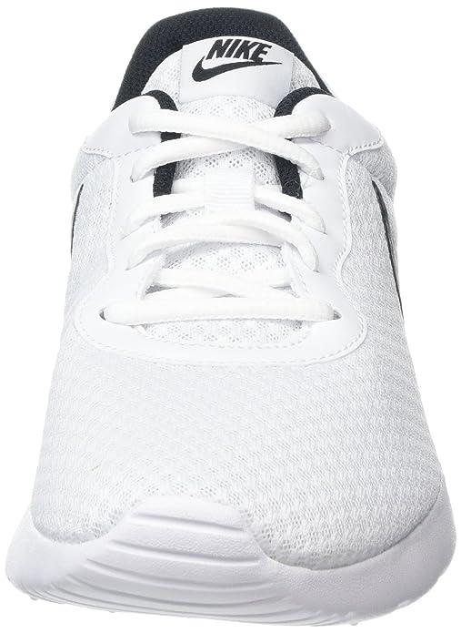 Amazon.com | Nike Womens Nike Tanjun White/Black Running Shoes Size 10 | Fashion Sneakers