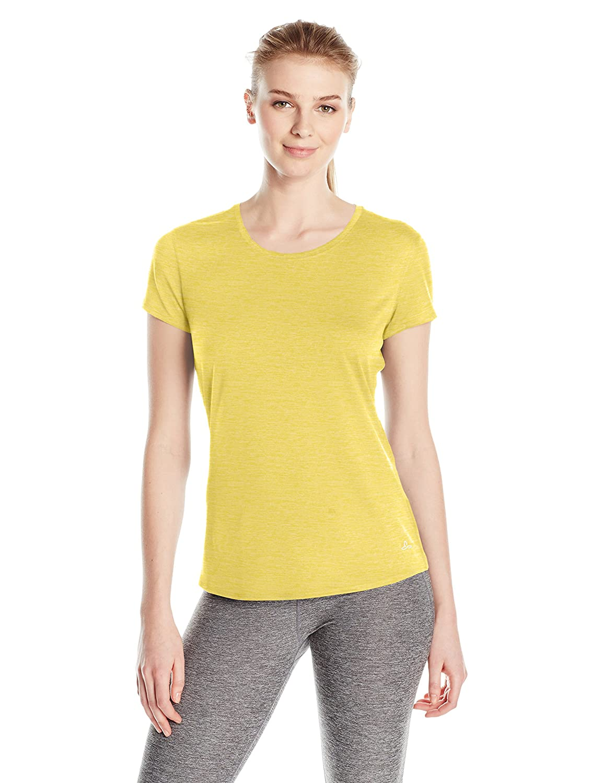 prAna Women's Revere Short Sleeve Tee Prana Sports Apparel W11170013-BLK-XS