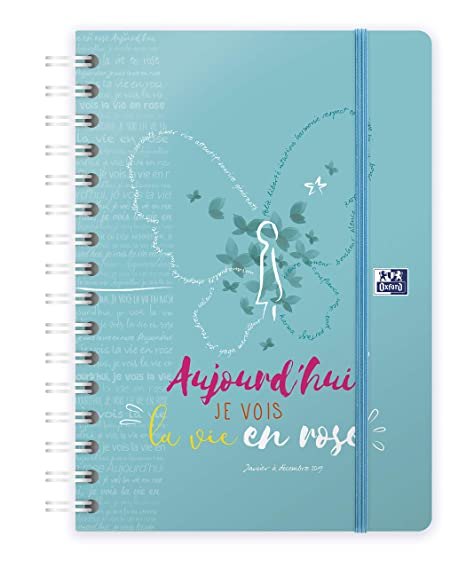 Oxford 100735815 M. felicidad agenda Civil (en espiral año ...