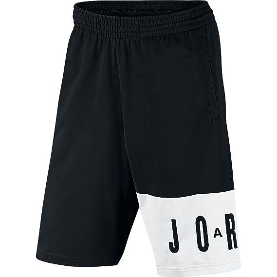 12852bc8c91 Nike JUMPMAN TL GRAPHIC SHORT mens athletic-shorts 834373-011_M -  BLACK/WHITE