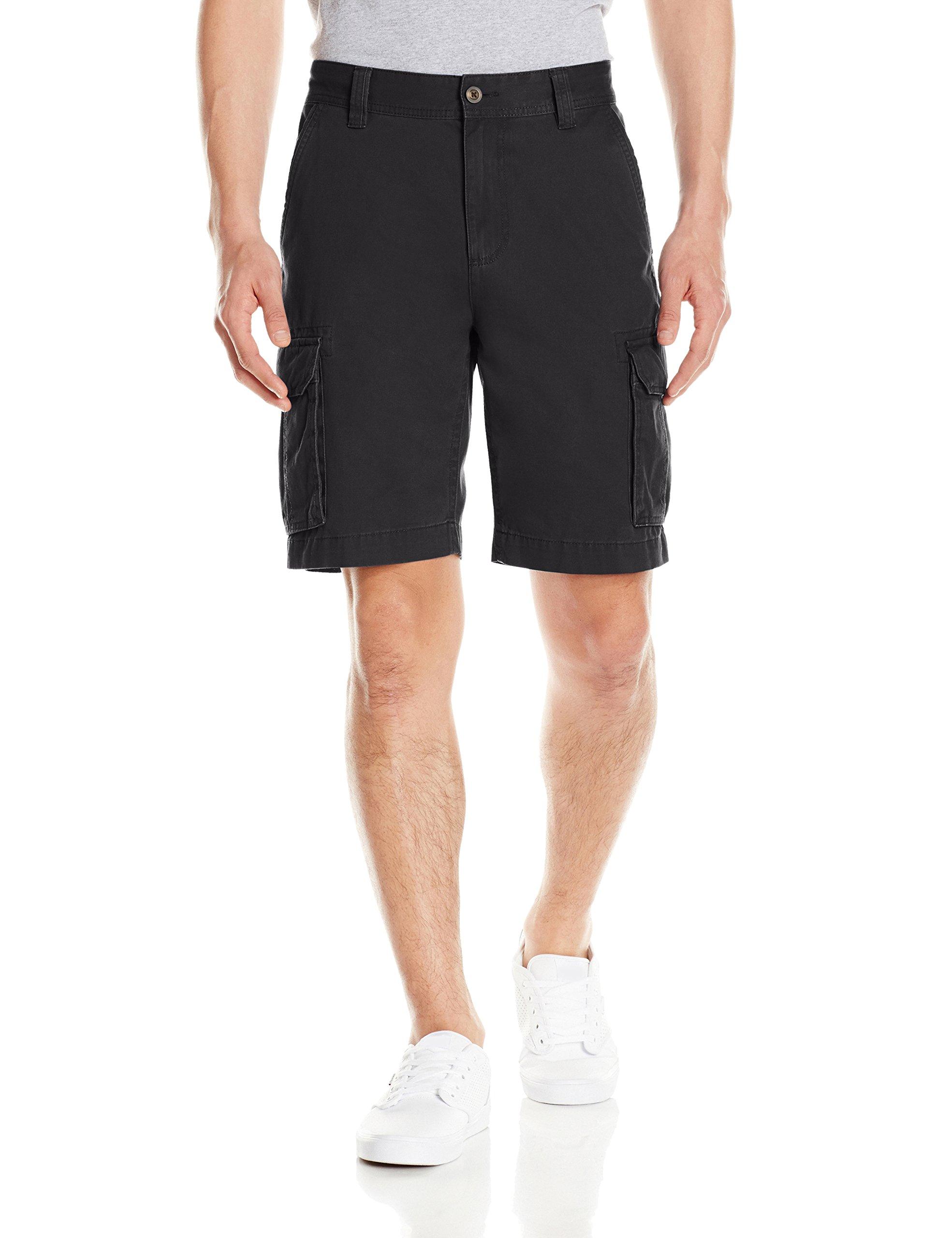 Amazon Essentials Men's Classic-Fit Cargo Short, Black, 44