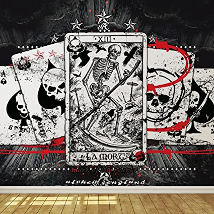 Playing Cards Wallpaper Mural Amazoncom