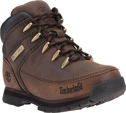 74fa8f6fba72 Timberland Boys Children Boys Euro Sprint Boot in Dark Brown - 13 Child