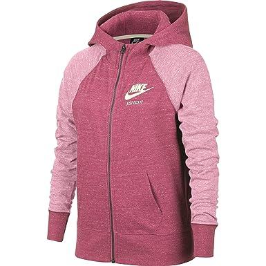 Nike G NSW VNTG Hoodie FZ Sudadera, Niñas: Amazon.es: Deportes y aire libre