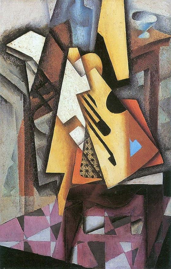 El Museo de salida - guitarra y frutero [3] por Juan Gris - Póster ...