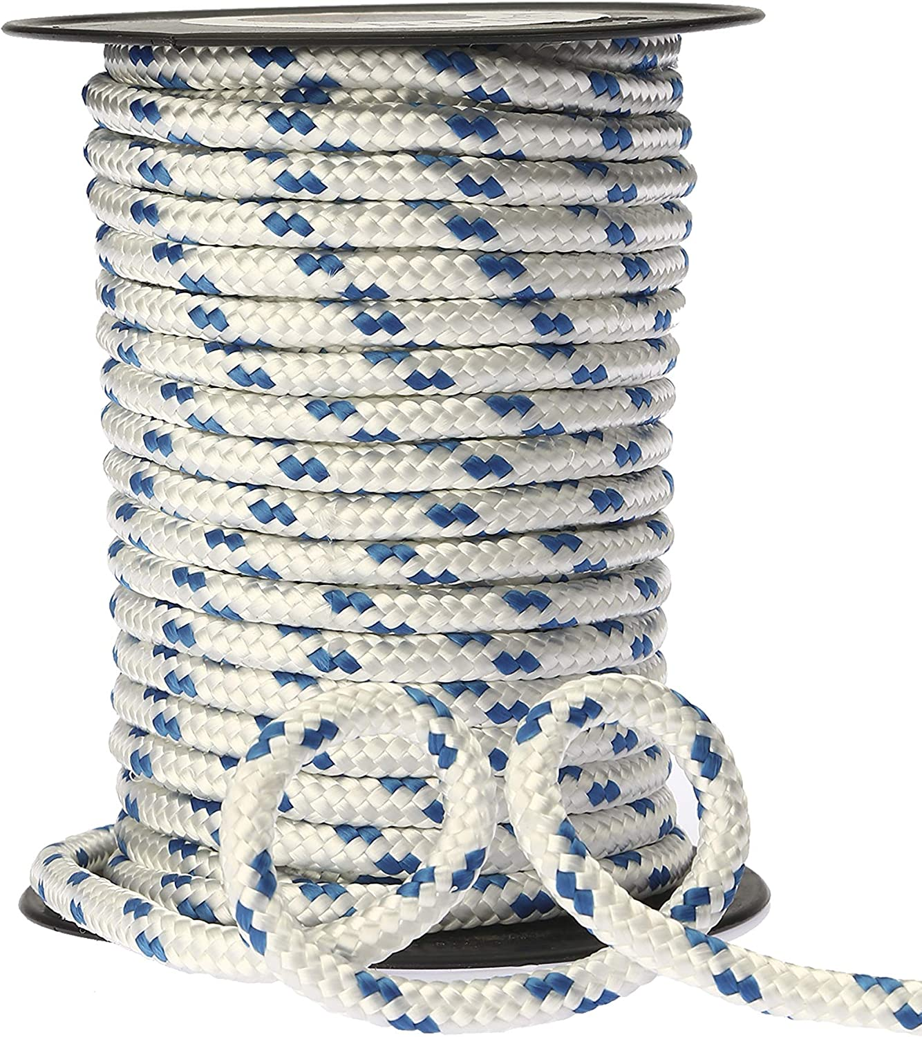 Multi-Purpose Rope Made in Turkey Nylon Rope 12MM Crafting Sailing 1//2 45ft KALYON Single Braided Polyester Rope Camping Rope