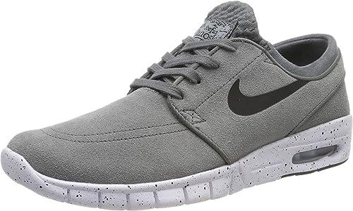 Nike Stefan Janoski Max, Chaussures de Skate Homme, Gris