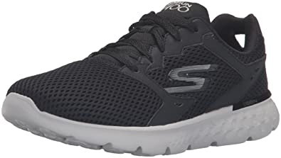 black skechers running shoes
