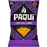 Paqui PAQUI Chile Limon Tortilla Chip Bag, 7 oz, 7 oz