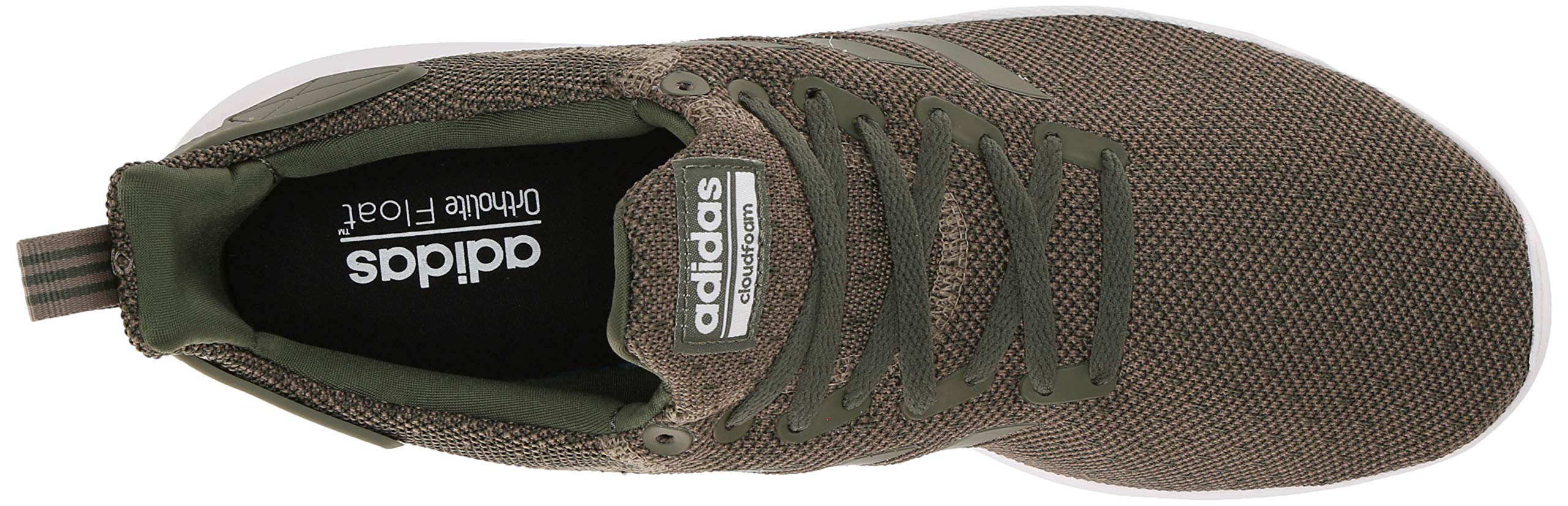 adidas Men's Lite Racer BYD Running Shoe, Trace Cargo/Base Green/White, 10 M US by adidas (Image #8)