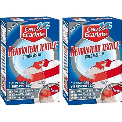 Eau Ecarlate–Renovador textil funda de 50G–Lote de 2