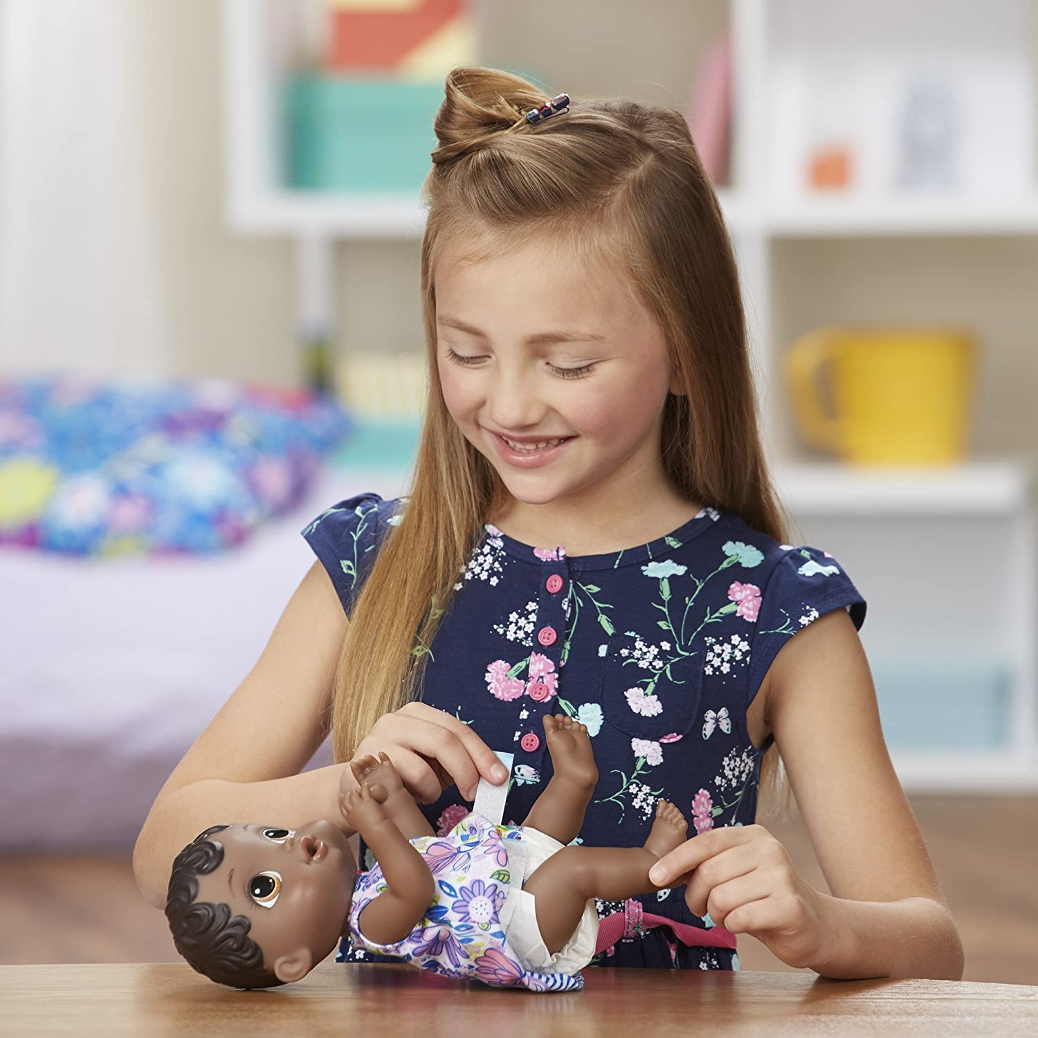 Baby Alive Lil SIPS Baby HAS-E0308-AX00 Lil Sips Baby Girl Doll Hasbro Dolls