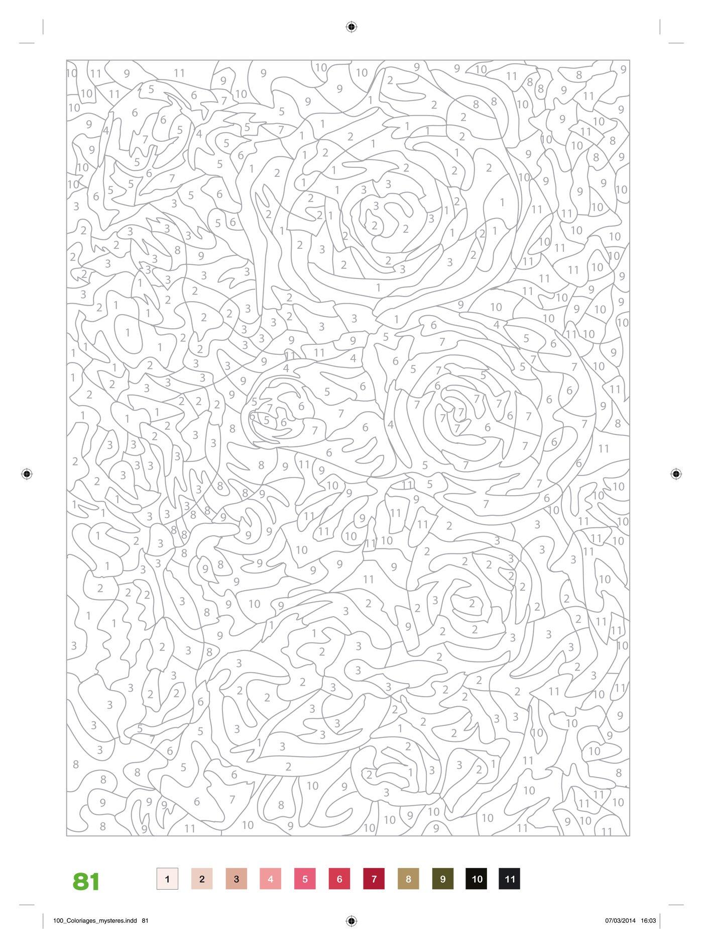 coloriage anti stress avec code couleur