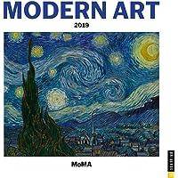Modern Art 2019 Wall Calendar