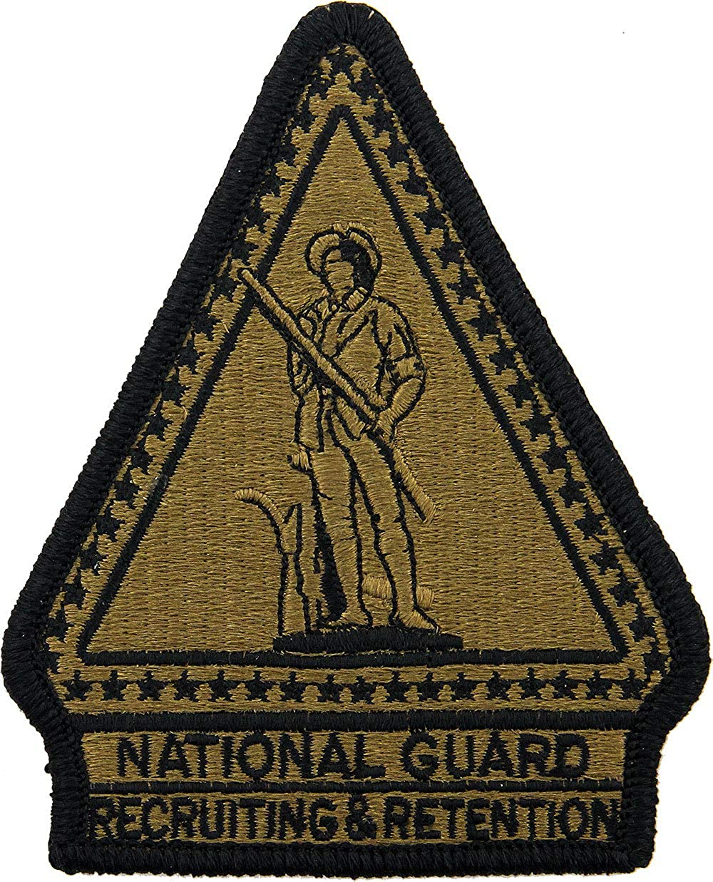 Puerto Rico National Guard Headquarters Patch Scorpion//OCP with Hook Fastener