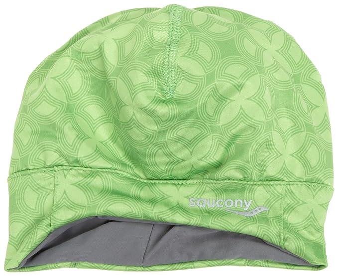 32dc4ac1 Amazon.com: Saucony Drylete Ponytail Skull Cap(Envy, One Size): Clothing