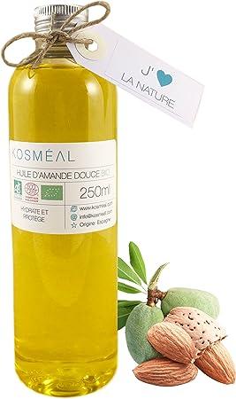 Aceite De Almendras Dulces BIO 250 ml - Hecho En España - 100 ...
