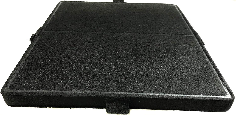 DKF-20 1X DKF-18 DKF-21 Filtre /à charbon actif adapt/é pour hotte Miele Filtre de rechange Noir DKF12 //16//17 //18//19-1//20 //21