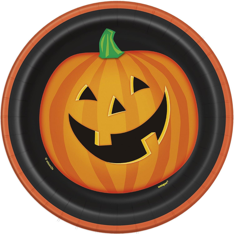 Smiling Pumpkin Party Supplies Design by Unique