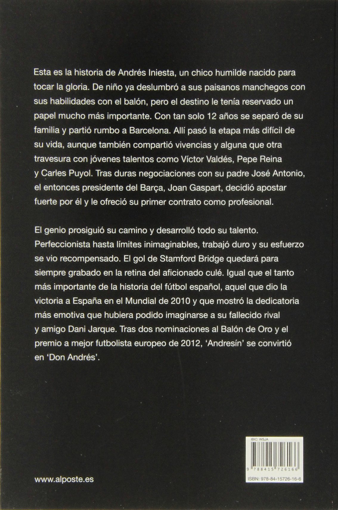 Iniesta: El genio discreto (DEPORTES - FUTBOL): Amazon.es: Malo ...