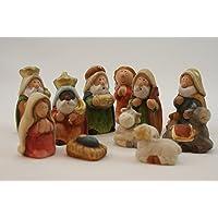 Figuras de cerámica para portal de Belén,