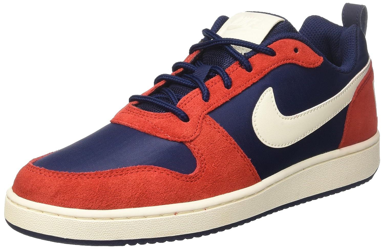 Nike Court Borough Low Prem, Zapatos de Baloncesto Para Hombre 43 EU Azul (Midnight Navy/Sail/University)