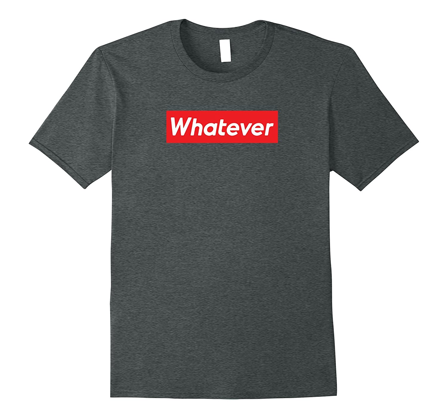 Whatever Red Box T shirt-Art