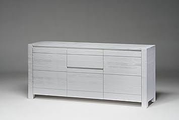 Credenza Da Cucina Bianca : Cordel credenza legno massello di abete laccato bianca made in