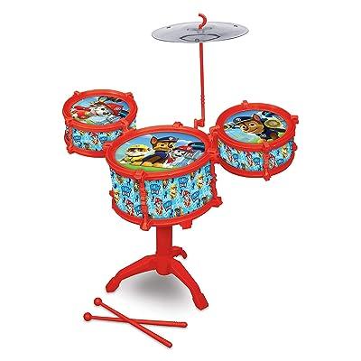 What Kids Want Paw Patrol Drum Kit Set: Toys & Games
