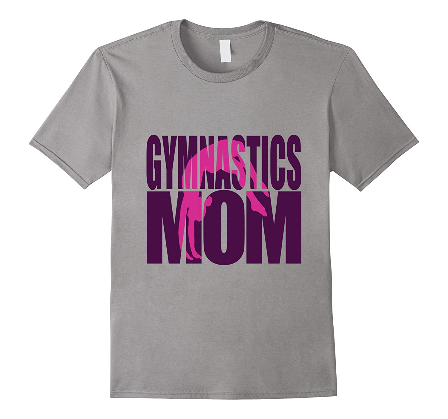 Gymnastics Mom Shirt Gymnast Daughter Son Mommy Mothers Day-TD