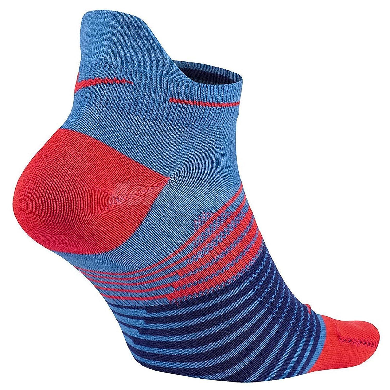 Nike Running DRI-FIT Lightweig - Calcetines para hombre, color Azul (Lt Photo Blue / Bright Crimson), talla M: Amazon.es: Deportes y aire libre