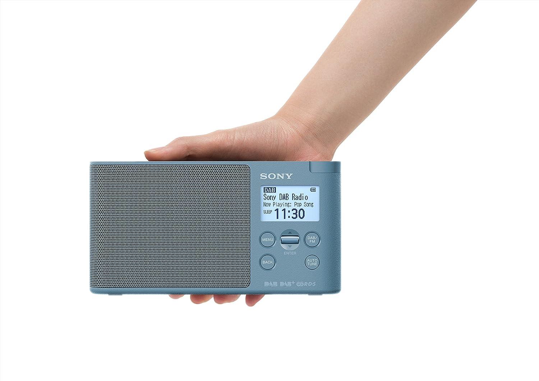 Sony XDRS41DL.EU8 - Radio portátil Digital (Dab/Dab+/FM, Altavoz, 5 presintonías Digitales y 5 analógicas, Pantalla LCD, Temporizador, Adaptador CA) ...