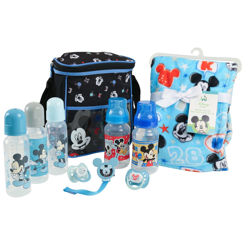 Disney Baby Mickey Mouse Essentials Bundle, Blue