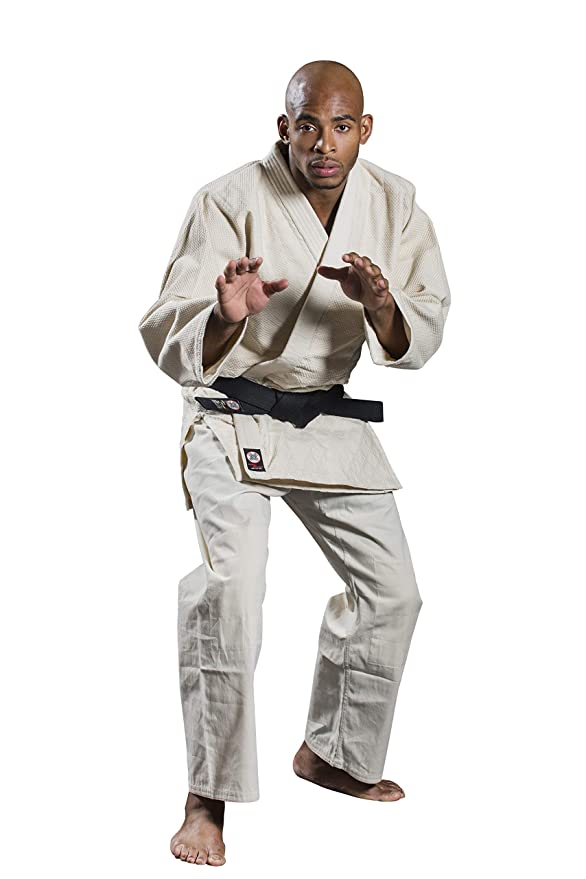 Amazon.com: Ronin Brand Single Weave Unbleached Judo Uniform ...