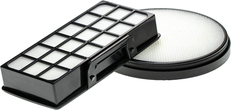 vhbw Set de 2 filtros de aspiradora compatible con Rowenta X-Trem ...