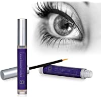Eyelash Growth Serum By B Radiant - Rapid Lash and Brow Enhancer, Grow Longer and Fuller Lashes and Eyebrows - Made in USA