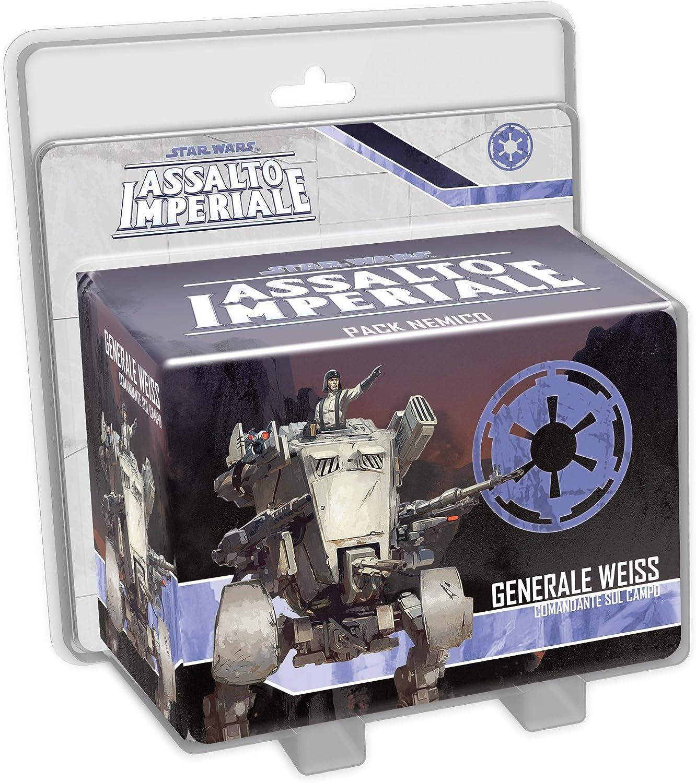 Asmodee- Star Wars Assalto Imperial: General Weiss expansión Juego de Mesa con espléndidas miniaturas, Multicolor, 9001: Amazon.es: Juguetes y juegos