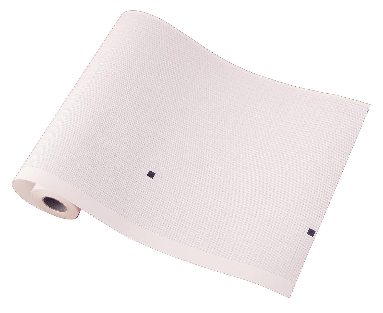 tecnocarta 66010029rollos de papel térmico para ECG compatibles con cardiette/Cardioline 66010029(209mm X 20M), 5unidades)