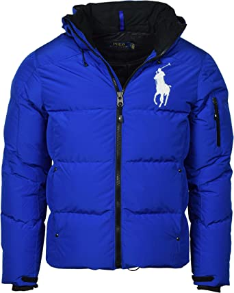 YYG Mens Big and Tall Hooded Mid Length Thermal Thicker Down Quilted Puffer Jacket Coat Outerwear
