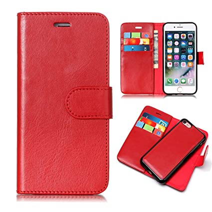 Amazon.com: iPhone 8 Funda, iPhone 7 Funda, Uzer 2 en 1 ...