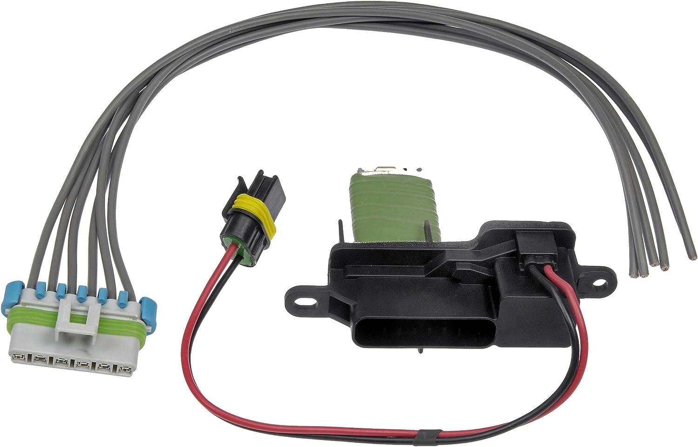 HVAC Blower Motor Resistor Kit Front Dorman 973-407